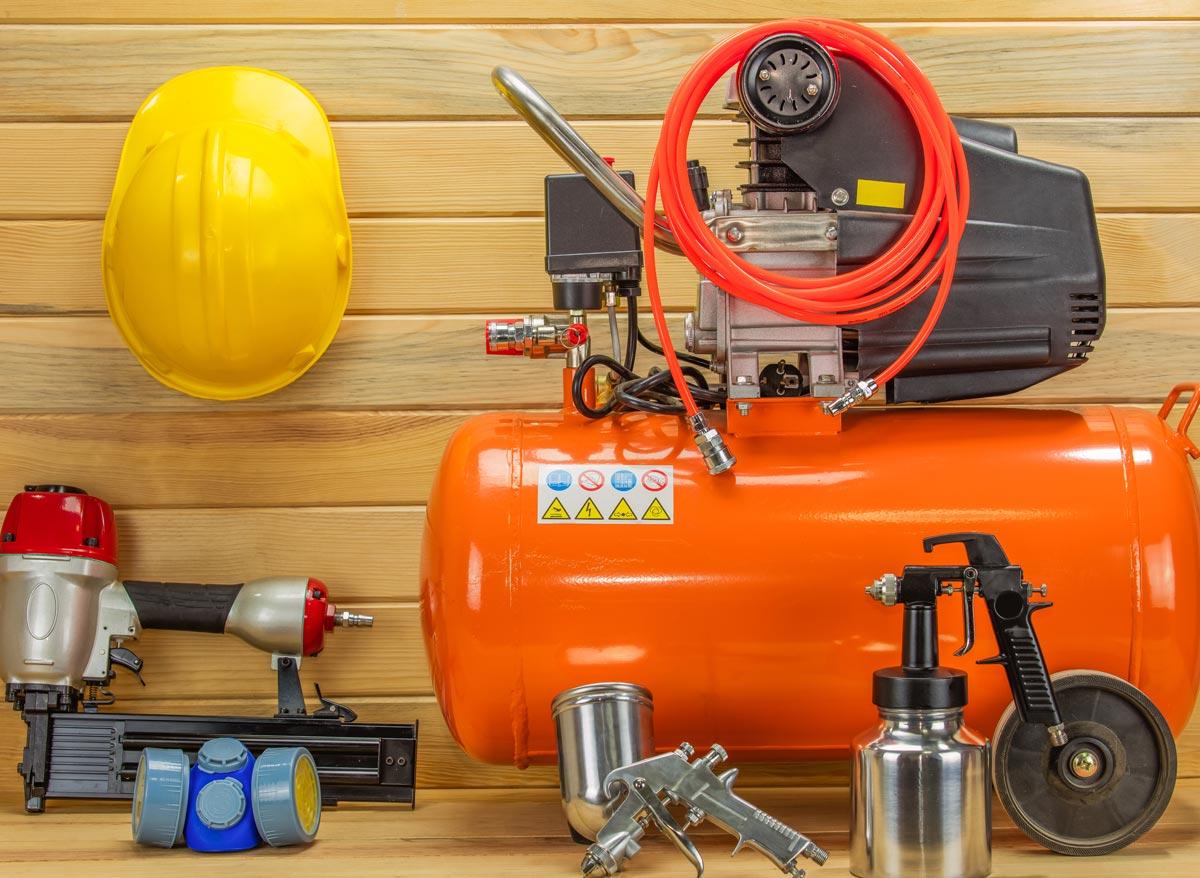 Air compressors & pneumatic tools