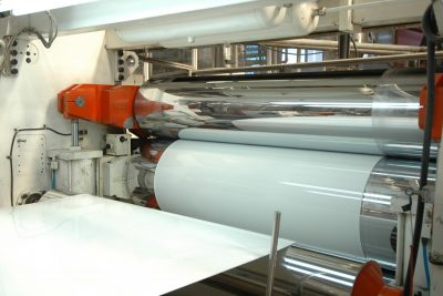 Roll grinding paper industry
